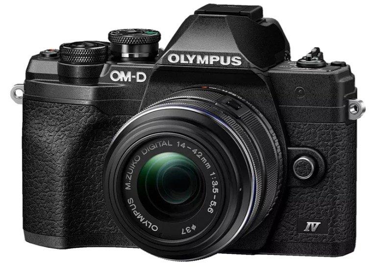 """Olympus """"OMD E-M10 Mark IV"""" Kit Systemkamera mit Objektiv für 679€ (statt 752€)"""