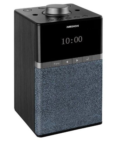 "Medion Life ""P66130"" WLAN DAB+ Radio (4W, UKW, Bluetooth, WLAN, Alexa, Multiroom) für 28,99€ (statt 39€)"