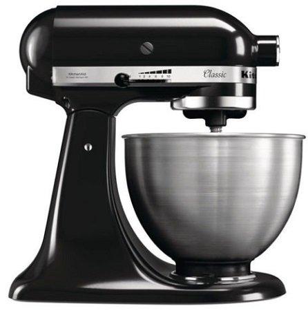 KitchenAid 5K45SSEOB Classic Küchenmaschine inkl. Schüssel für 222€ (B-Ware)