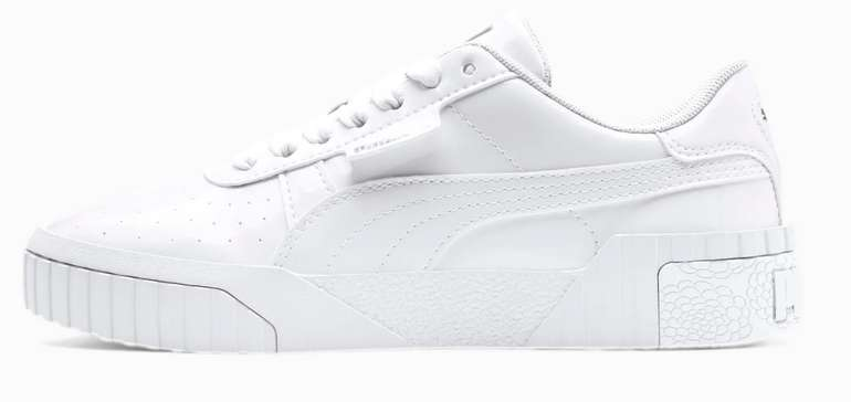 Puma Cali Patent Sneaker in weiß oder schwarz für Mädchen zu 36,71€ inkl. Versand (statt 42€)