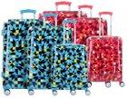 Travelite - 3-teilige Travelite Campus 4-Rollen Kofferset für 89€ (statt 129€)