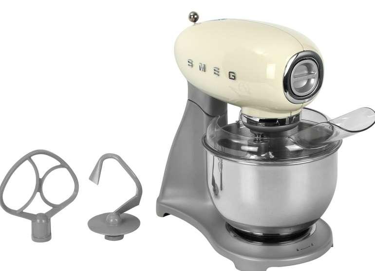 Smeg Küchenmaschine 50's Style SMF02CREU in Creme oder Grau für 369€inkl. Versand (statt 385€)