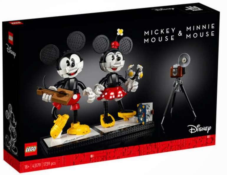 Lego Disney Micky Maus und Minnie Maus (43179) für 145€inkl. Versand (statt 165€)