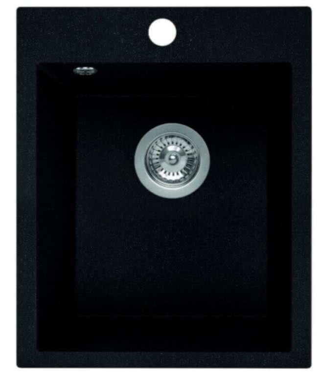 """Schwarze """"Granit"""" Einbau-Spüle (48 x 39cm) für 79€ inkl. Versand (statt 94€)"""