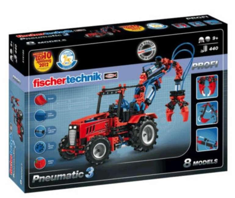 fischertechnik Pneumatic 3  Baukasten mit 8 Modellen und 440 Bauteilen (516185) für 66€