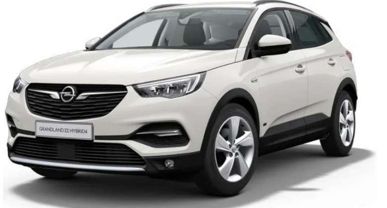 Gewerbeleasing: Opel Grandland X Hybrid Elegance mit 300 PS für 119 netto mtl. (BAFA, LF: 0.28, Überführung: 995€)