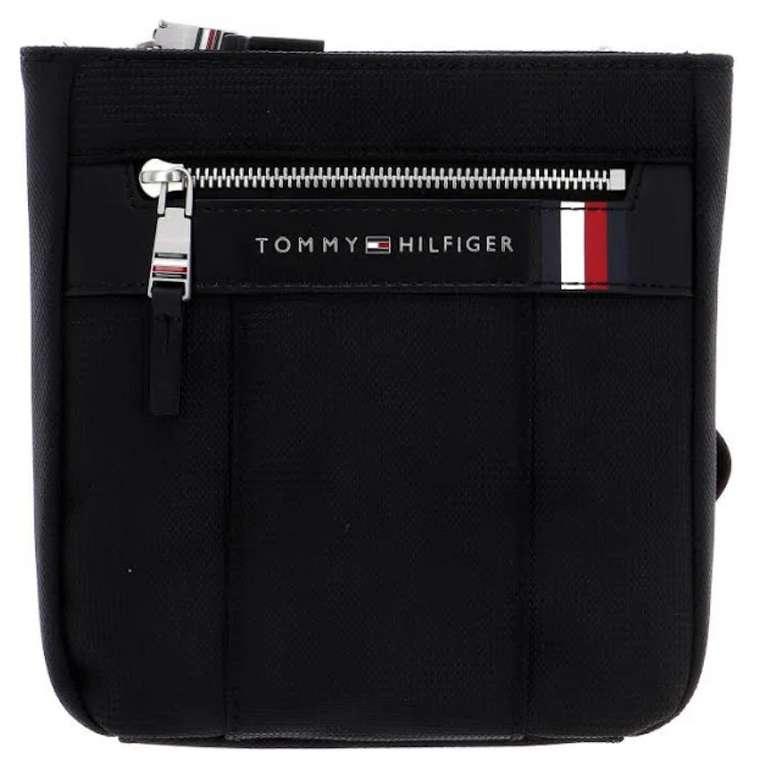 """Tommy Hilfiger Herren - Taschen """"Elevated Nylon Mini Crossover"""" in schwarz für 31,46€ inkl. Versand (statt 55€)"""