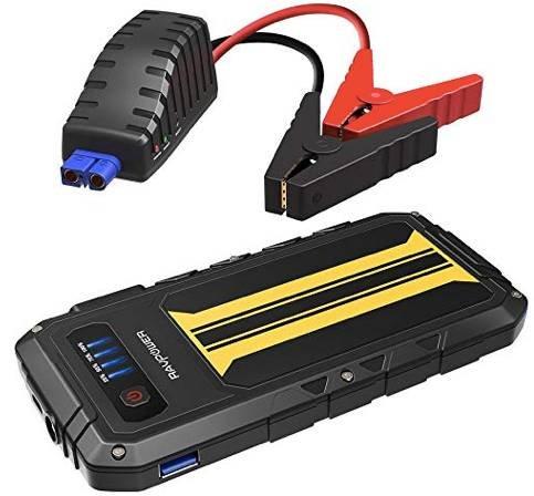 RAVPower DE RP-PB007 Auto Starthilfe (300A, 8000mAh, Quick Charge) für 27,19€