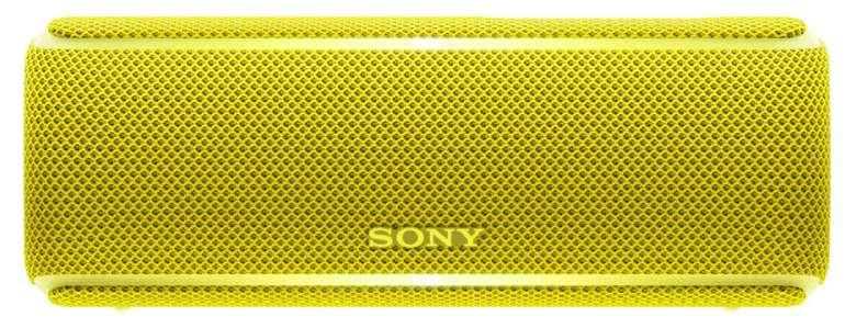 Sony SRS-XB21 kabelloser Bluetooth Lautsprecher in gelb für 50€ (statt 55€)
