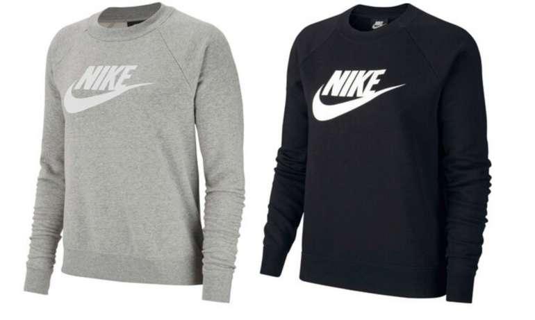 "Nike Sportswear Damen Sweatshirt ""Essential"" in schwarz oder grau ab 29,72€ inkl. Versand (statt 35€)"