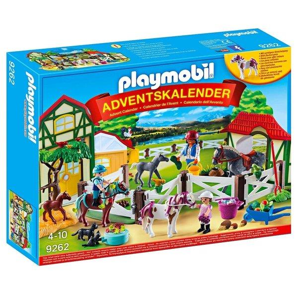 Playmobil 9262 Adventskalender Reiterhof für 13,95€ (statt 18€)