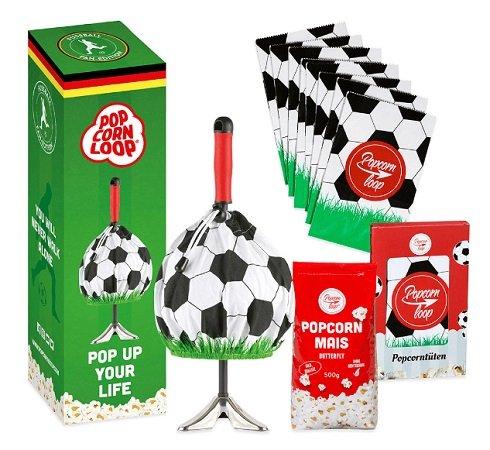 Top! Popcornloop Fußball Fan Set für 19,99€ inkl. VSK (statt 29,99€)