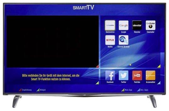 """JVC LT-55VU83A 55"""" UHD Fernseher mit Triple-Tuner für 493,45€ inkl. Versand"""