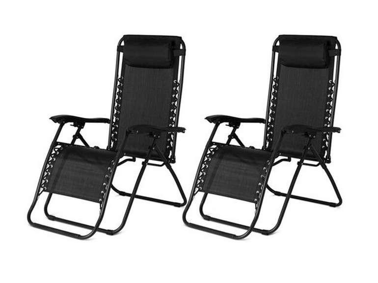 2er Set 909 Outdoor Liegestuhl für 78,90€ inkl. Versand