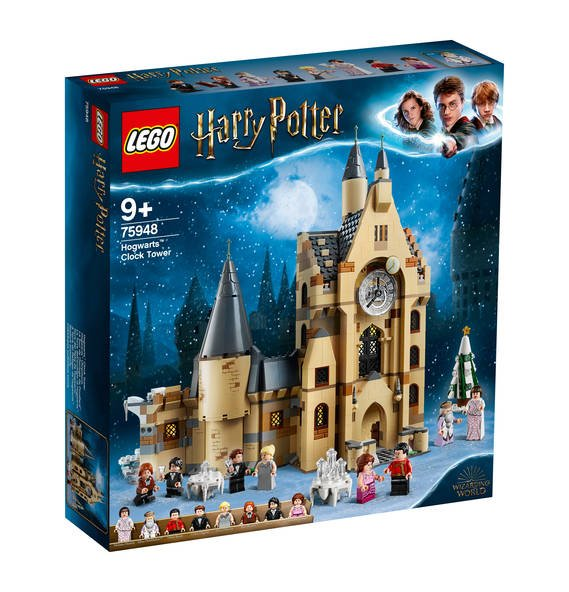 Amazon Prime Day: Lego Harry Potter (75948) Hogwart Uhrenturm für 55,59€ inkl. Versand (statt 66€)