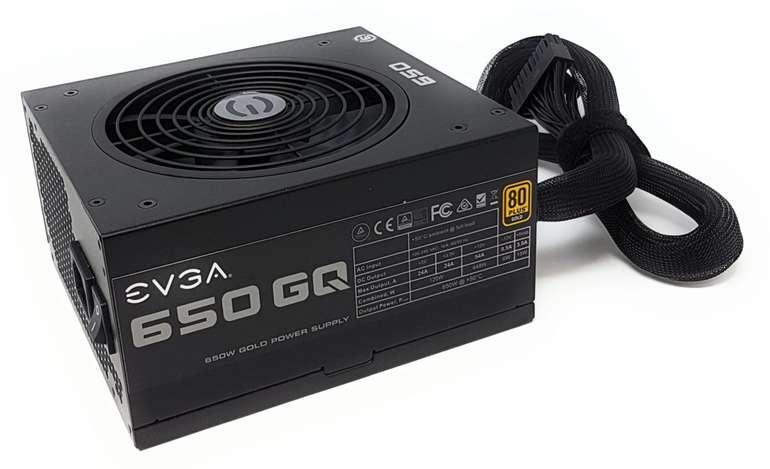 Evga 650 GQ, 80+ Gold Netzteil mit 650 Watt für 69,99€inkl. Versand (statt 85€)