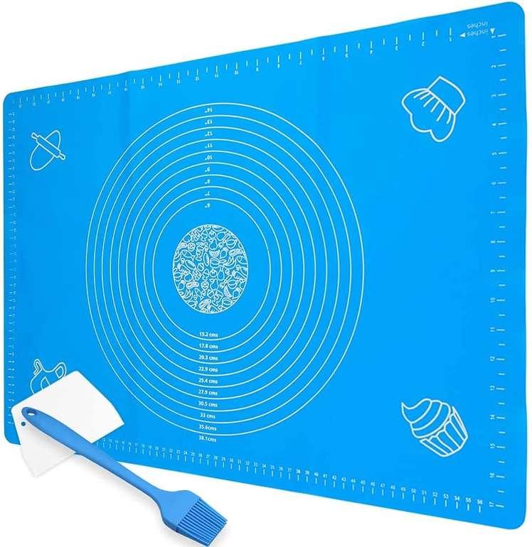 Fuumiy Silikon Backmatte (70 x 50 cm) + Zubehör für 7,99€ inkl. Prime Versand (statt 10€)