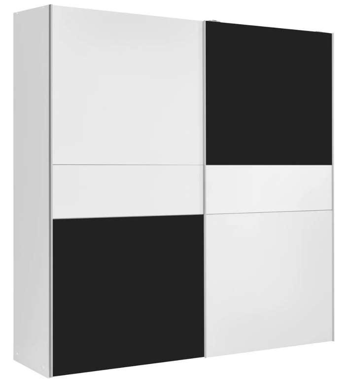 Modern Living Schiebetürenschrank aus Holzdekor mit 170cm Breite für 125,30€ inkl. Versand (statt 179€)