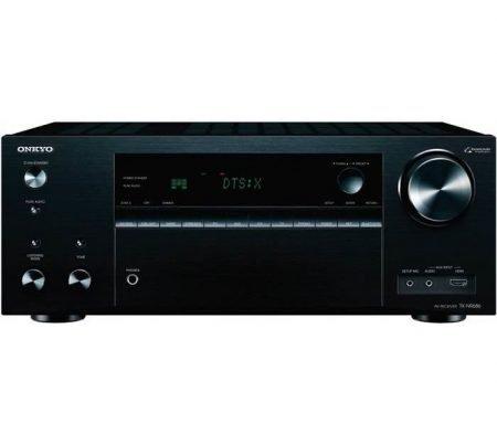 Onkyo Receiver TX-NR686E-B (schwarz) für 403,95€ inkl. VSK (statt 459€)