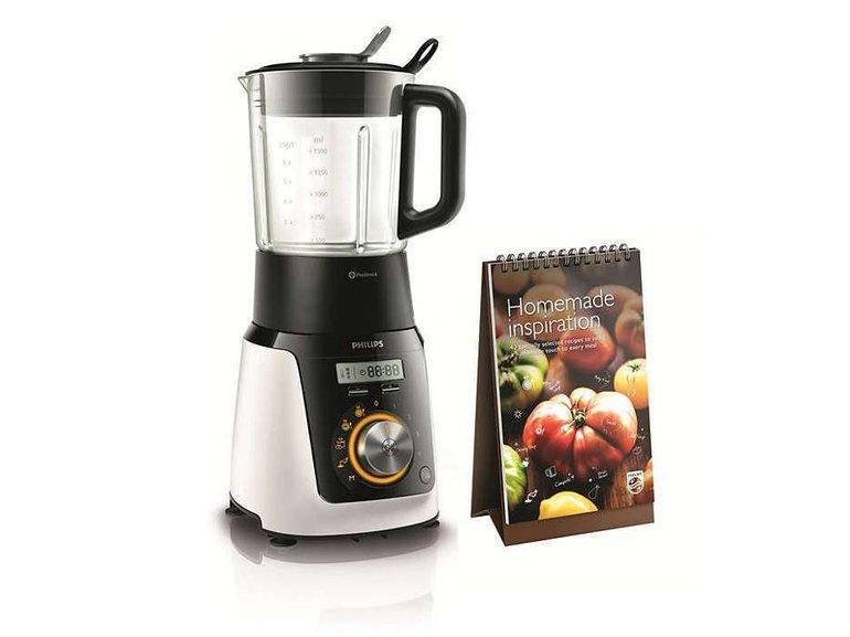 Philips HR2098/30 Standmixer mit Kochfunktion & Rezepten für 69,99€ (Verpackungsschäden)