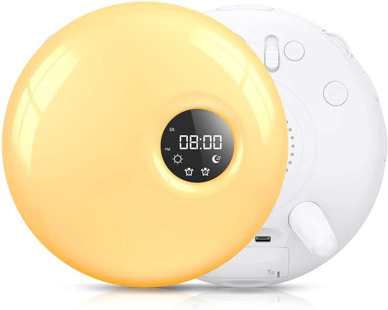 Coulax Lichtwecker mit Radio (30 Helligkeitsstufen, 7 Farben) für 19,99€ inkl. Versand (statt 60€)