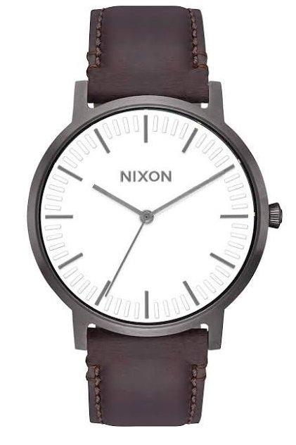 Nixon Armbanduhr 'Porter Leather' für 69,93€ inkl. Versand (statt 85€)