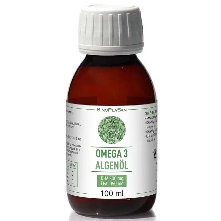 2x Sinoplasan Omega-3 Algenöl DHA 300mg + EPA 150mg Öl (100ml) für 27,96€ inkl. Versand (statt 36€)