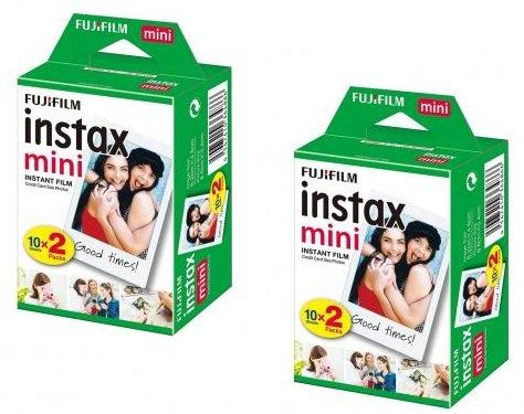 2x Fuji Instax Mini Sofortbildfilm (40 Bilder) für 21,39€ inkl. Versand (statt 34€)