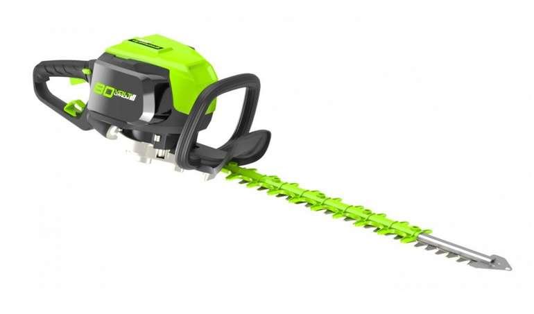 Greenworks Akku-Heckenschere 80 V mit 69cm Schwertlänge für 93,90€ inkl. Versand (statt 150€)