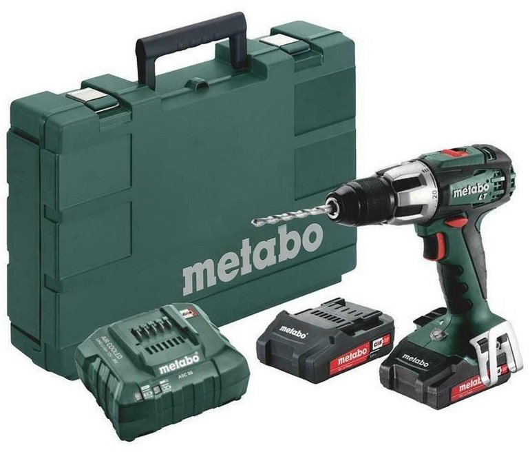 Metabo Akkuschlagbohrer SB18LT Compact + 2x 2,0Ah Akku + Ladegerät für 114,90€