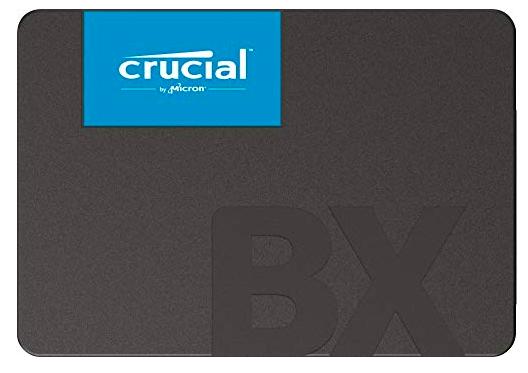 Crucial BX500 - 2,5 Zoll SSD mit 120GB Speicherplatz für 19€ inkl. Versand