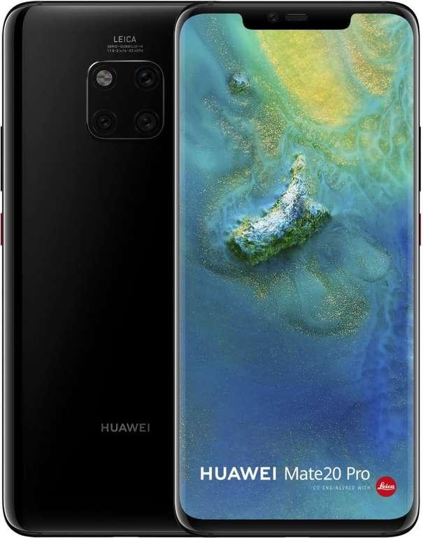 Huawei Mate 20 Pro (49€) + SuperCharge Powerbank inkl. o2 Free M Boost Allnet mit 20GB LTE für 29,99€ mtl.