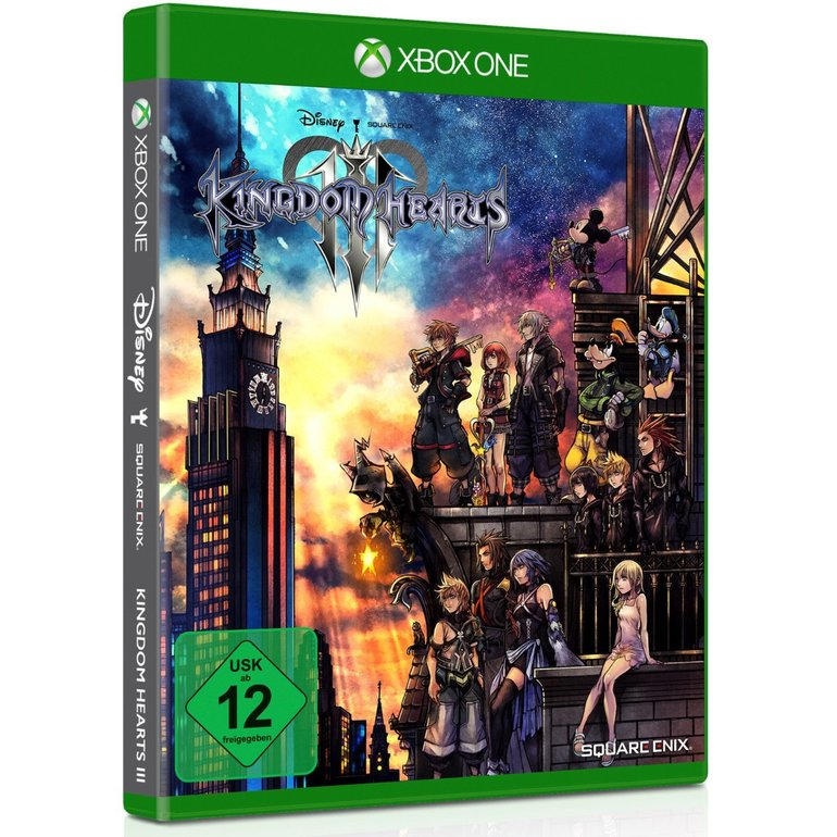 Kingdom Hearts 3 (Xbox One) für 21,68€ inkl. Versand