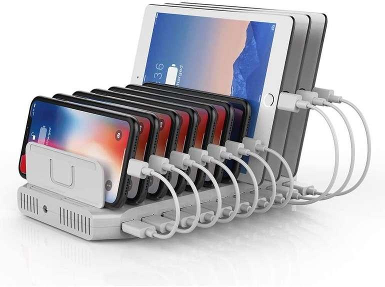 Unitek USB Ladestation mit 10 Ports (SmartIC. einstellbare Teiler) für 32,99€ inkl. Versand (statt 56€)