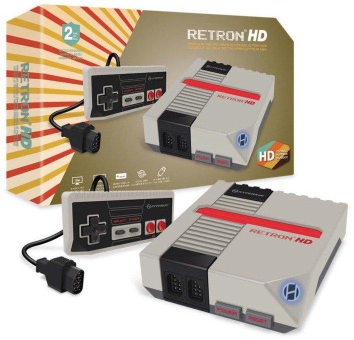 RetroN 1 HD Konsole – spielt Nintendo NES Classic Spiele für 49,99€ mit Versand