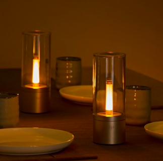 Yeelight YLFW01YL Smart Atmosphere Kerzenlicht für 28,48€ (im EU-Lager)