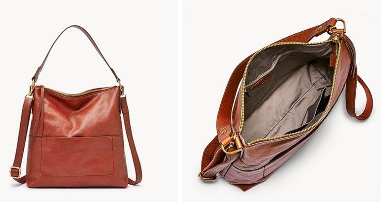 FOSSIL Damen Handtasche Amelia Hobo 4