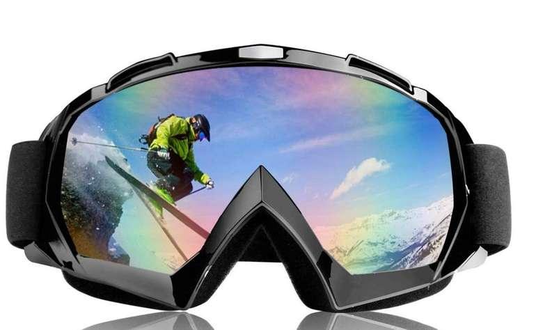 TolleTour Skibrille für Damen und Herren mit UV-Schutz für 9,59€ inkl. Versand (statt 15€)