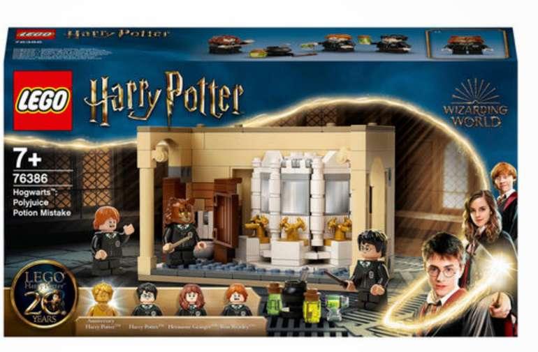 Lego Harry Potter - Bundle: 76386 + 76387 + 76388 + 10700 für 86,74€inkl. Versand (statt 113€)