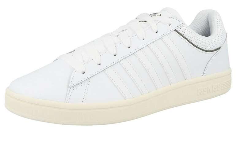 """K-Swiss Sneaker """"Court Winston"""" in khaki/weiß für 31,43€ (statt 38€)"""