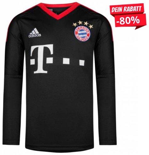 Adidas FC Bayern München Kinder-Torwart-Trikot für 18,94€ inkl. Versand