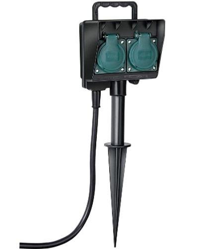 Brennenstuhl Garten-Steckdose mit 1,4m Kabel für 6,43€ inkl. Versand (statt 10€) - Prime!