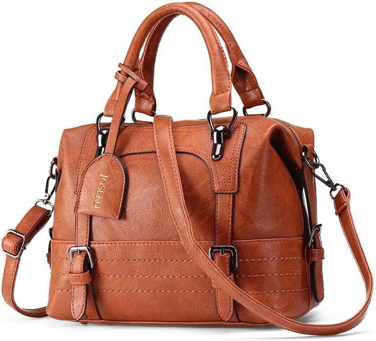 Joseko Damen Handtasche aus Kunstleder für 17,39€ inkl. Prime Versand (statt 29€)