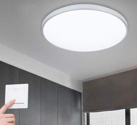 Vingo 16W LED-Deckenleuchte mit 2700K-6500k für 18,89€ inkl. VSK