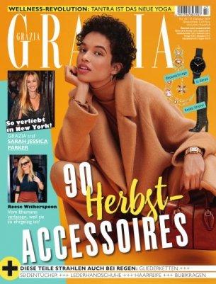 """Jahresabo """"Grazia"""" mit 50 Ausgaben für 162,80€ + 150€ Bestchoice-Gutschein!"""