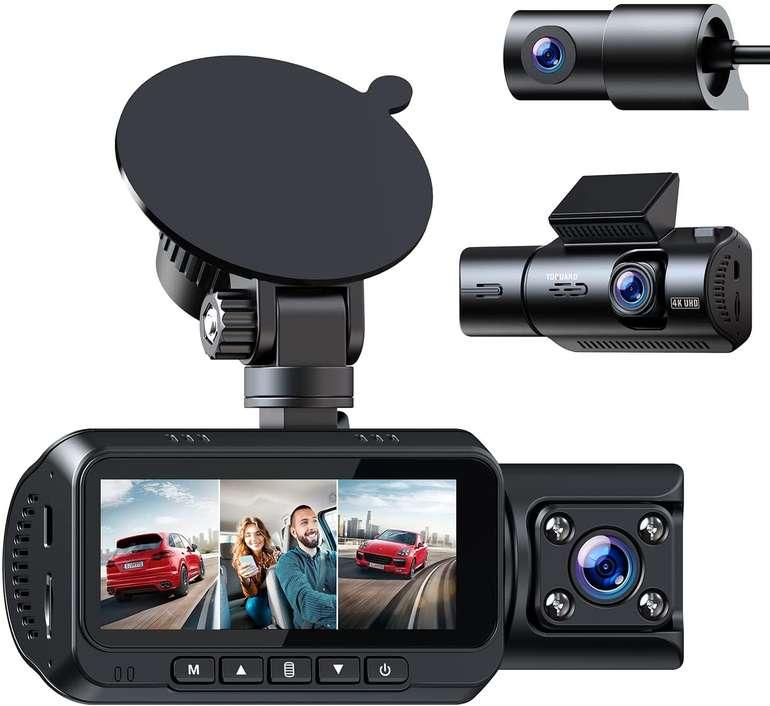 Toguard 3 Lens 4K Dashcam & Rückfahrkamera für 139,99€ inkl. Versand (statt 160€)