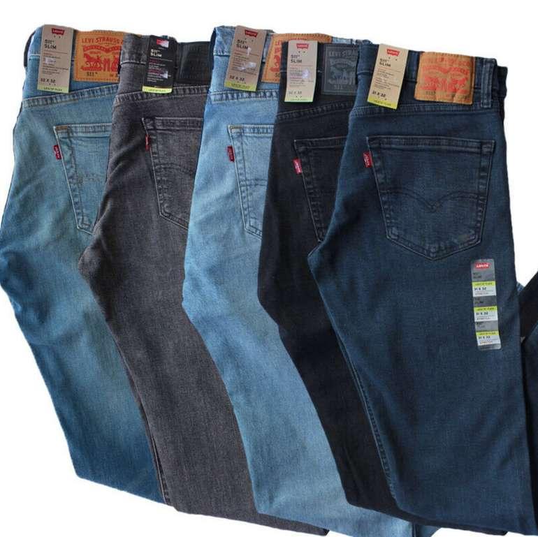 Levis 511 Slim Stretch Flex Herren Jeans (vers. Farben) zu je 49,99€inkl. Versand (statt 60€)