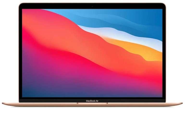 Apple MacBook Air Notebook M1 (13,3 Zoll, 512 GB SSD, 8 GB RAM) in Gold für 1.104,95€ inkl. Versand (statt 1219€)