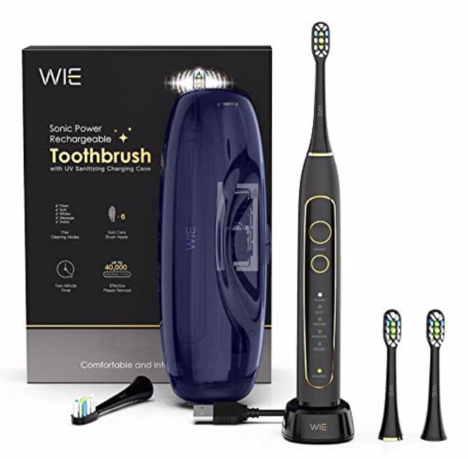 WIE SuperNova elektrische Zahnbürste mit 5 Putzprogrammen für 29,99€