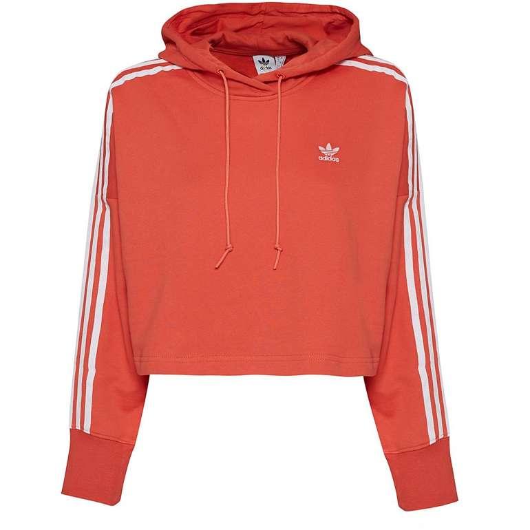 Adidas Originals Cropped Damen Hoodie für 31,94€ inkl. Versand (statt 38€)